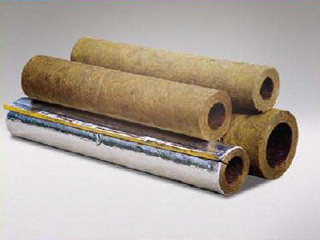 Rock wool alexinsulation for Mineral wool pipe insulation